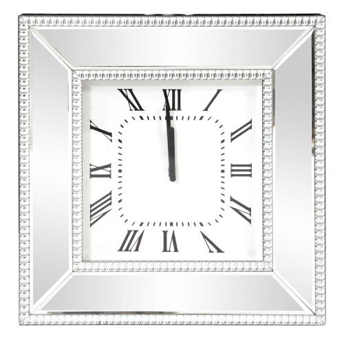 Mirrored Wall Clock-99172 by Howard Elliott Home Goods
