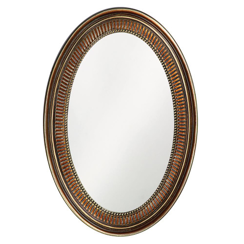 Ethan Bronze Mirror-2110 by Howard Elliott Home Goods