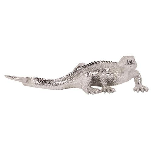 Bright Nickel Plated Lizard-12170 by Howard Elliott Home Goods
