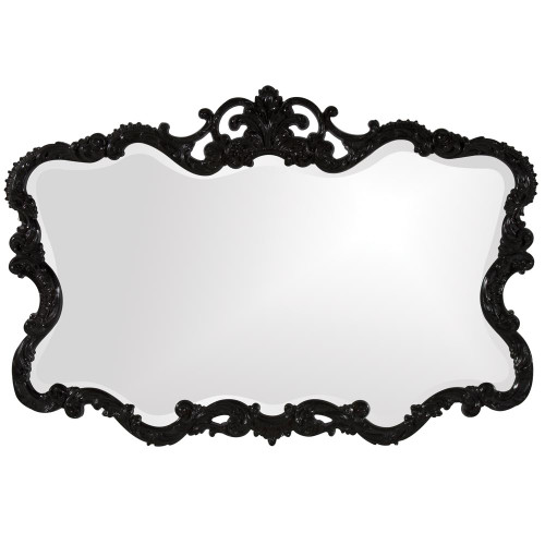 Talida Black Mirror-21184 by Howard Elliott Home Goods