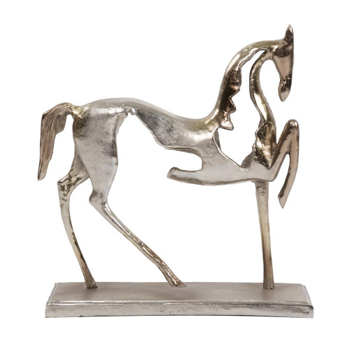 Aluminum Horse Sculpture-51093 by Howard Elliott Home Goods