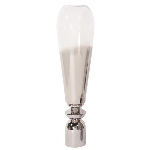 Smokey Tall Glass Large Vase-93016 by Howard Elliott Home Goods