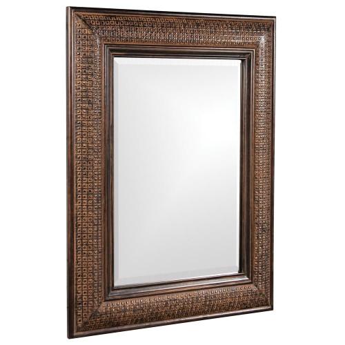 Grant Antique Brown Mirror-37045 by Howard Elliott Home Goods