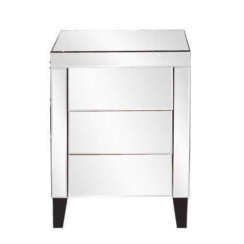 Mirrored 3 Drawer Small Dresser-99026 by Howard Elliott Home Goods