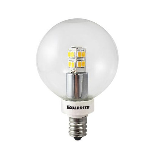 Bulbs & Accessories By Bulbrite 2.5W LED G16 2700K E12 120V 770145