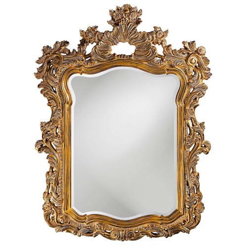 Turner Antique Gold Mirror-2147 by Howard Elliott Home Goods
