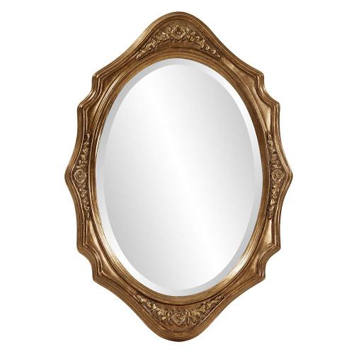 Trafalga Gold Mirror-4052 by Howard Elliott Home Goods