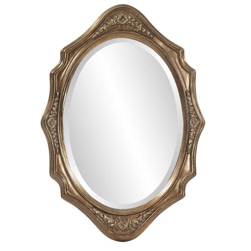 Trafalga Silver Leaf Mirror-4053 by Howard Elliott Home Goods