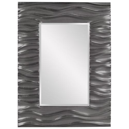Zenith Charcoal Gray Mirror-56042CH by Howard Elliott Home Goods