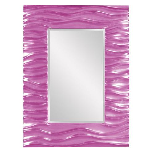Zenith Hot Pink Mirror-56042HP by Howard Elliott Home Goods