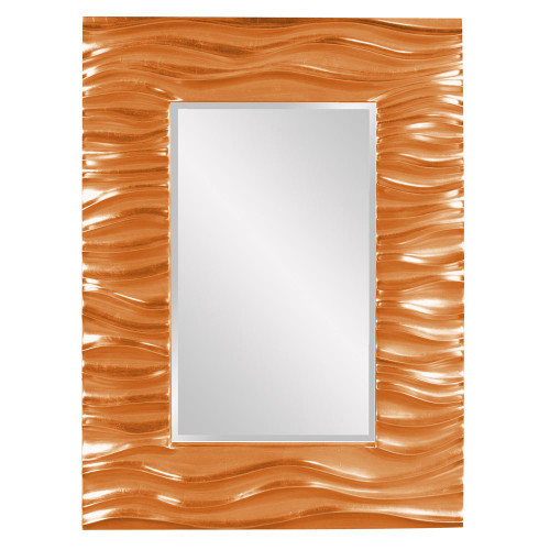 Zenith Orange Mirror-56042O by Howard Elliott Home Goods
