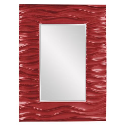 Zenith Red Mirror-56042R by Howard Elliott Home Goods
