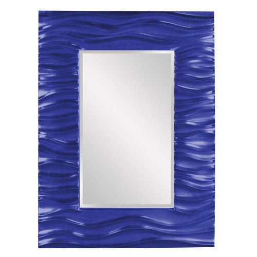 Zenith Royal Blue Mirror-56042RB by Howard Elliott Home Goods
