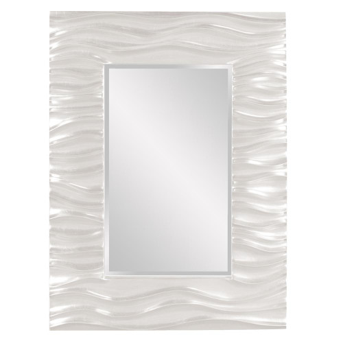 Zenith White Mirror-56042W by Howard Elliott Home Goods