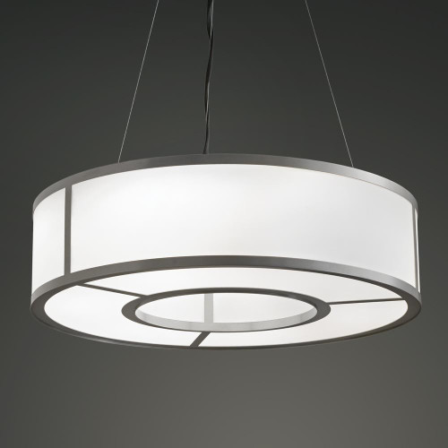 Tambour LED 24 Inch Pendant Light-UL17379-24-4 by Ultralights
