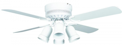 Ceiling Fans By Concord Fans Concord By Luminance 42 Inch Hugger W/Lt Cb Pc - White 42HUG4WH-YG6