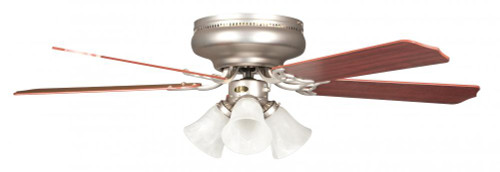 Ceiling Fans By Concord Fans Concord By Luminance 42 Inch Rosemount Hugger W/ 3 Lt Kit 42RO5SN