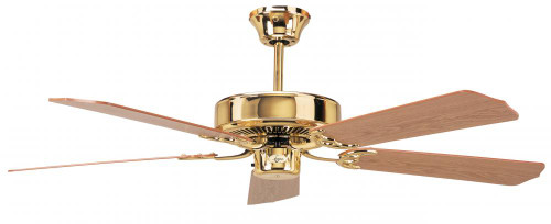Ceiling Fans By Concord Fans Concord By Luminance 52 Inch California Home Collection Ceiling Fan - Polished Brass 52CH5BB