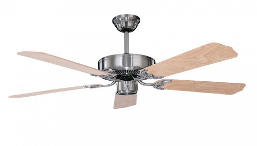 Ceiling Fans By Concord Fans Concord By Luminance 52 Inch California Home Collection Ceiling Fan - Stainless Steel 52CH5ST