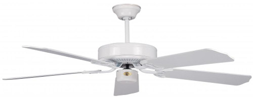 Ceiling Fans By Concord Fans Concord By Luminance 52 Inch California Home Collection Ceiling Fan - White 52CH5WH