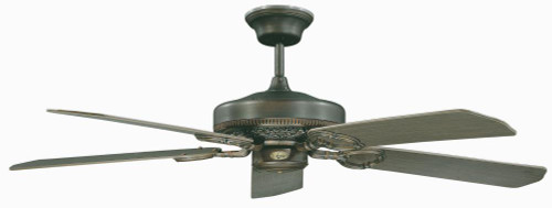 Ceiling Fans By Concord Fans Concord By Luminance 52 Inch French Quarter Ceiling Fan - Oil Rubbed Bronze 52FQ5ORB