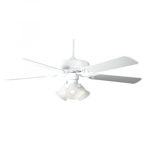 Ceiling Fans By Concord Fans Concord By Luminance 52 Inch Home Air Ceiling Fan W/ 3Lt Kit - White 52HA5EWH