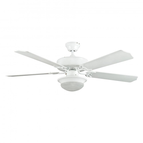 Ceiling Fans By Concord Fans Concord By Luminance 52 Inch Heritage Fusion Ceiling Fan W/2Light Mb Cfl Light Kit - White 52HEF5WH