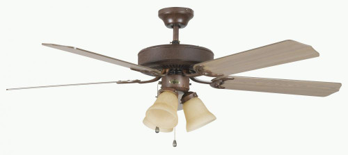Ceiling Fans By Concord Fans Concord By Luminance 52 Inch Heritage Home Ceiling Fan W/Lt Kit - Oil Rubbed Bronze 52HEH5EORB