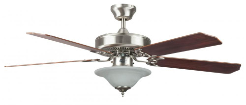 Ceiling Fans By Concord Fans Concord By Luminance 52 Inch Heritage Sq Ceiling Fan W/Bowl Lt - Stainless Steel 52HES5EST