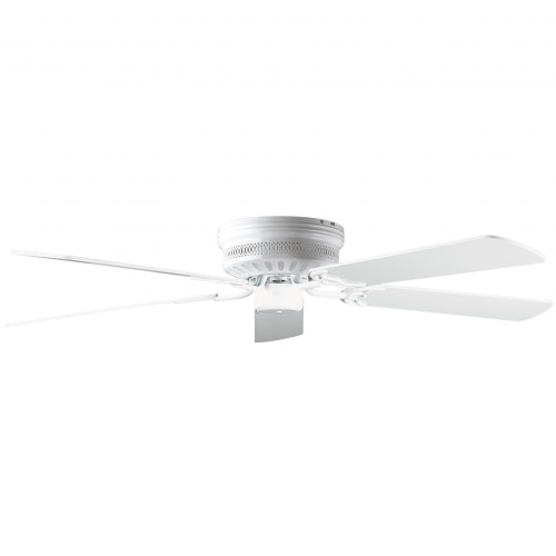 Ceiling Fans By Concord Fans Concord By Luminance 52 Inch Hugger Ceiling Fan W/Lt-Dk Blades - White 52HUG5WH