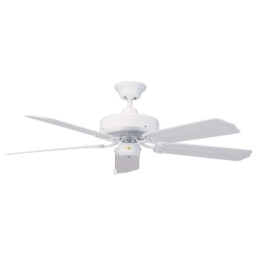 Ceiling Fans By Concord Fans Concord By Luminance 52 Inch Nautika Outdoor Ceiling Fan - White 52NA5WH