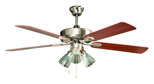 Ceiling Fans By Concord Fans Concord By Luminance 52 Inch San Marcos Ceiling Fan W/ 3Lt Kit - Stainless Steel 52SM5EST