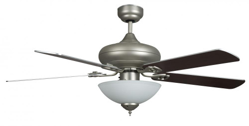 Ceiling Fans By Concord Fans Concord By Luminance 52 Inch Valore Quick Connect Ceiling Fan W/3 Light Kit - Satin Nickel 52VALQC5ESN