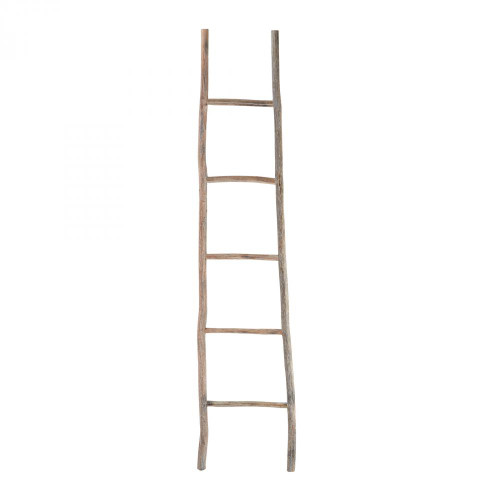 Home Decor By Dimond Wood White Washed Ladder - Large 594039