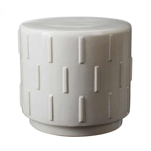 Home Decor By Dimond Tread Stool In White 857047