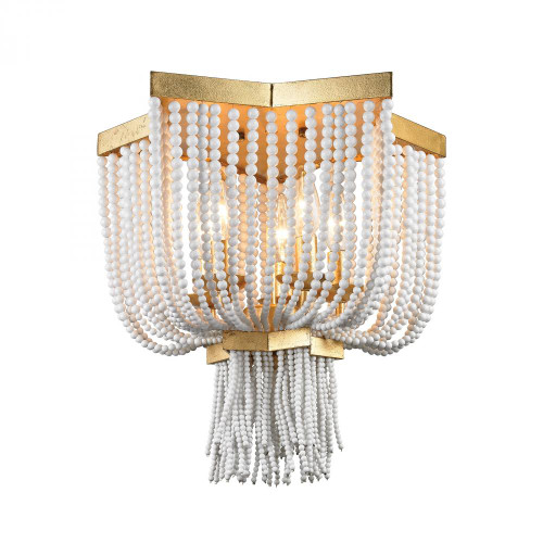 Ceiling Lights By Dimond Chaumont 5 Light Flush Mount In Antique Gold Leaf 1142-009
