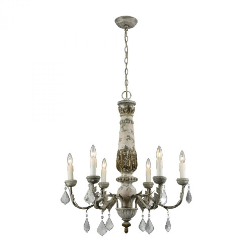 Chandeliers By Dimond Geneviève Chandelier 1202-005