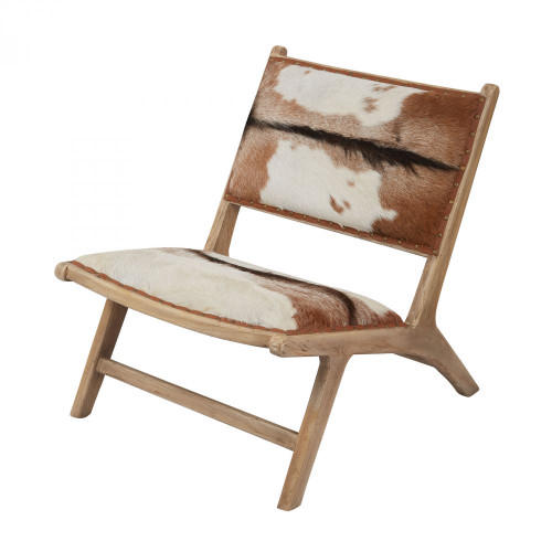 Home Decor By Dimond Goatskin Leather Lounger 161-005