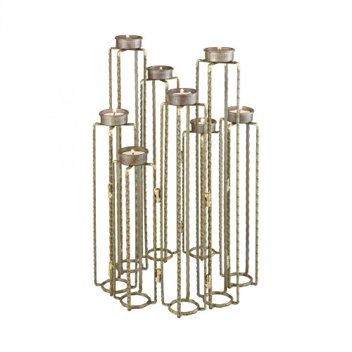 Home Decor By Dimond Ascencio Hinged Candle Holders 3129-1149