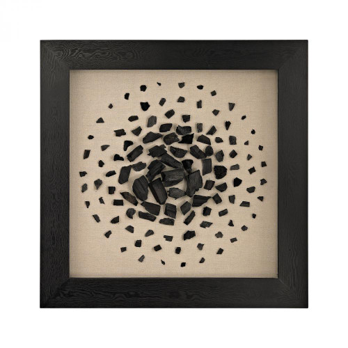 Home Decor By Dimond Black And White Carbon Shadow Box 3168-025