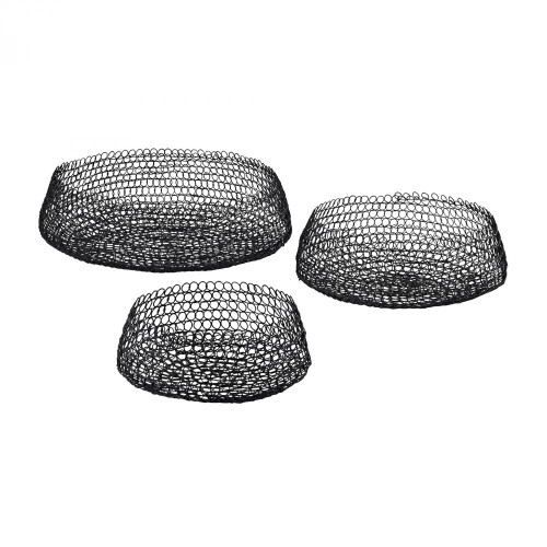 Home Decor By Dimond Welded Ring Bowls - Set of 3 3200-001/S3