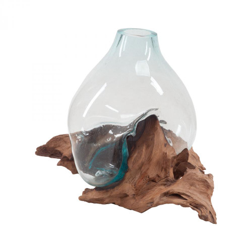 Home Decor By Dimond Driftwood Glass Bottle 7163-048
