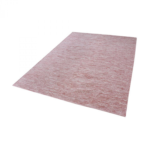 Home Decor By Dimond Alena Handmade Cotton Rug In Marsala And White - 31x96