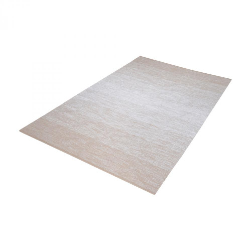 Home Decor By Dimond Delight Handmade Cotton Rug In Beige And White - 36x60