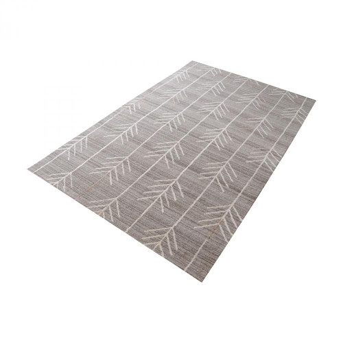Home Decor By Dimond Armito Handtufted Wool Rug In Warm Grey - 2.5ft 8905-103