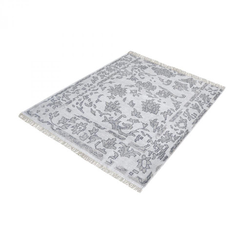 Home Decor By Dimond Harappa Handknotted Wool Rug In Grey - 16-Inch S 8905-274