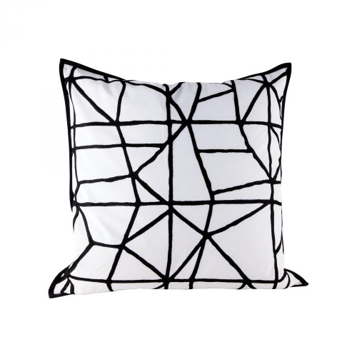 Home Decor By Dimond Cracking Pillow With Goose Down Insert 8906-010
