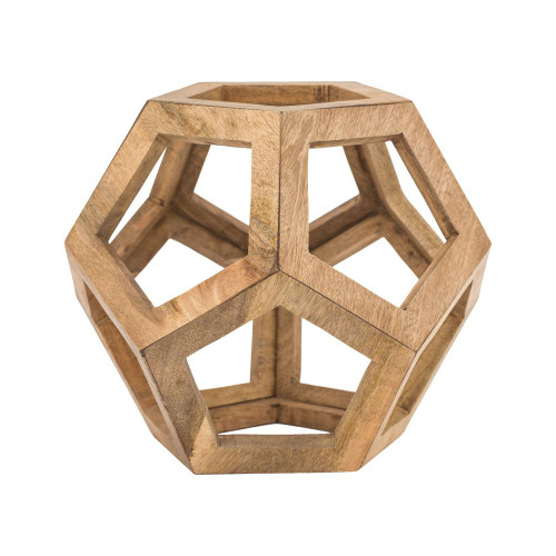 Home Decor By Dimond Wooden Honeycomb Orb 8985-058