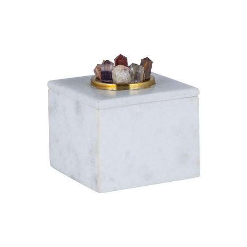 Home Decor By Dimond Christiana Marble Box 8986-006