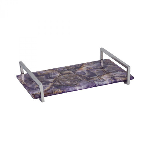 Home Decor By Dimond Amethyste Tray 8986-007